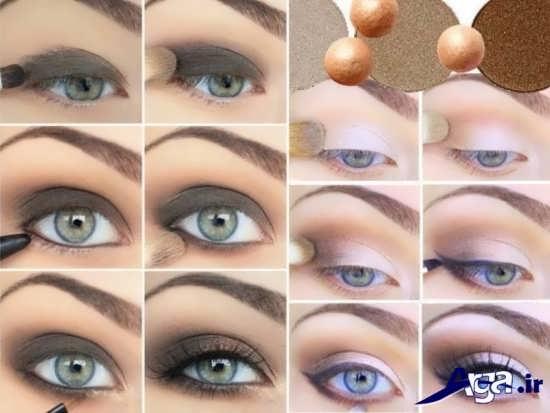 گالری مدل های آرایش چشم زیبا