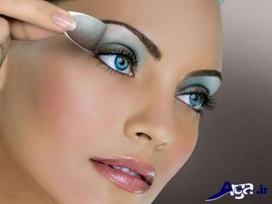 مدل سایه چشم مطابق با رنگ چشم