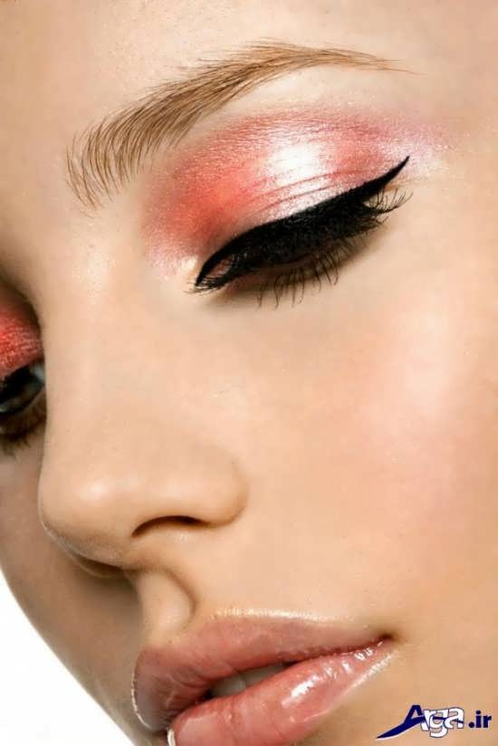 مدل های ساده آرایش چشم