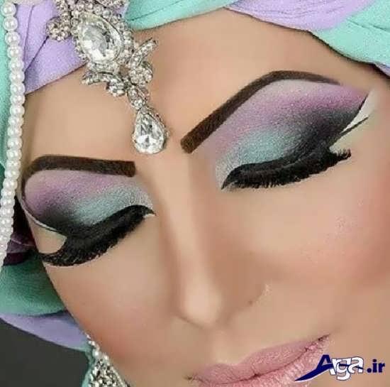 جدیدترین مدل آرایش چشم عربی