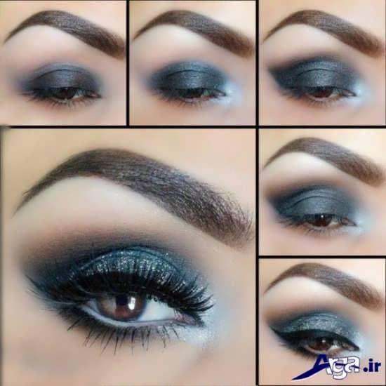 مدل زیبا و جدید آرایش چشم