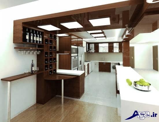 مدل اپن برای آشپزخانه ایرانی