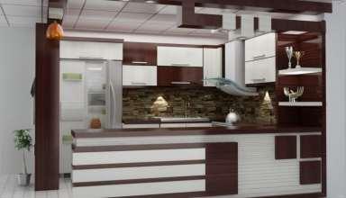 مدل اپن آشپزخانه مدرن و جدید
