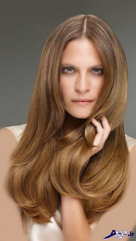 مدل مو و رنگ مو نسکافه ای