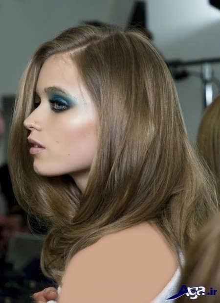 رنگ مو نسکافه ای مدرن