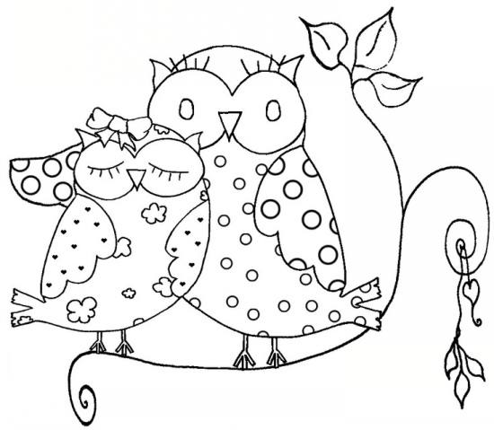 رنگ آمیزی جغد و دیگر حیوانات برای کودکان