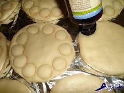روش چخت و طرز تهیه مواد میانی کلوچه فومن