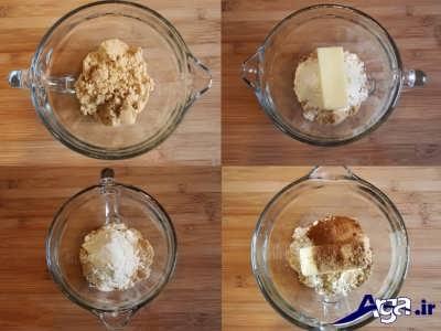روش پخت و مواد میانی کلوچه فومن