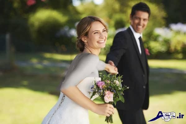 مدل شیک و زیبای عکس عروس و داماد