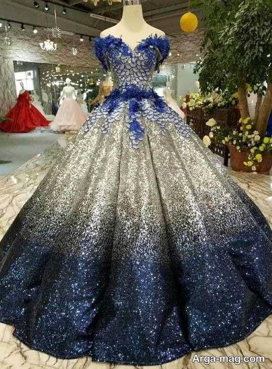 مدل لباس پرنسسی جدید