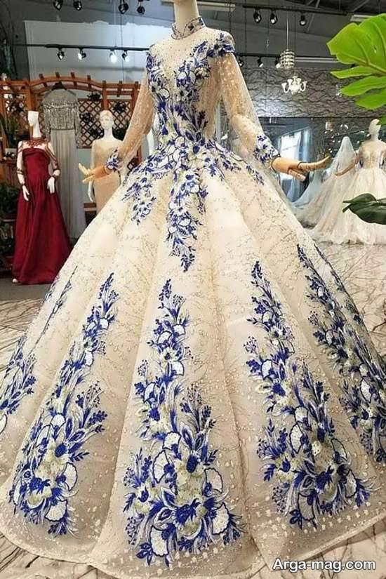 مدل پیراهن پرنسسی زیبا