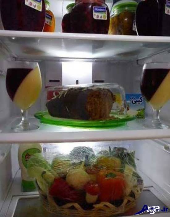 تزیینات جدید یخچال برای جهیزیه