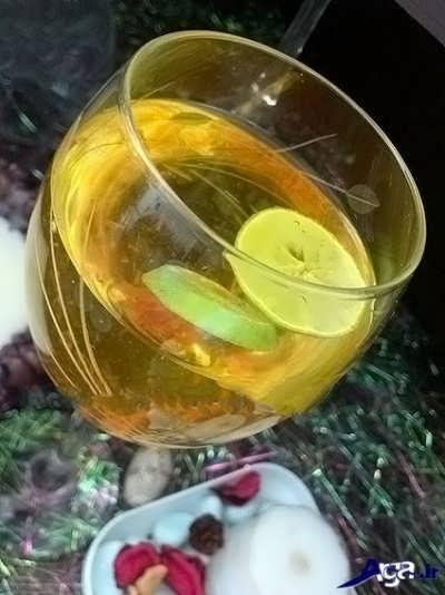 شربت زعفران با طعم دلپذیر