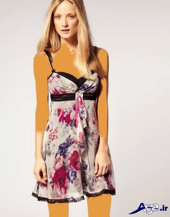 انواع مدل لباس مجلسی دکلته حریر