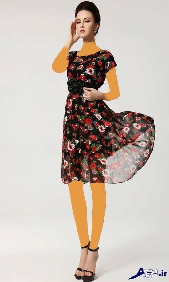 مدل لباس مجلسی حریر زنانه