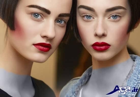 مدل ابرو پهن و زیبا