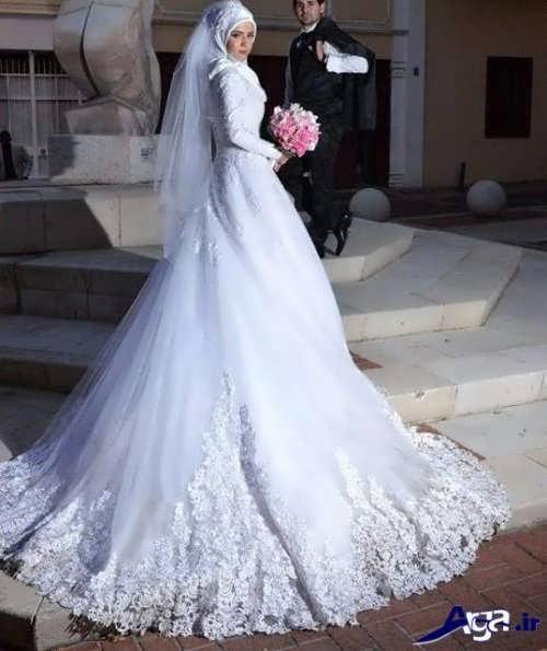 مدل زیبا و جذاب لباس عروس ایرانی