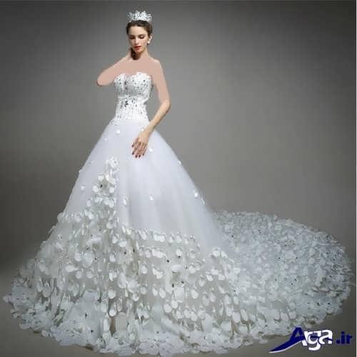 مدل زیبا و جذاب لباس عروس