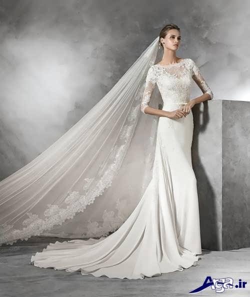 جدیدترین مدل لباس عروس اروپایی شیک