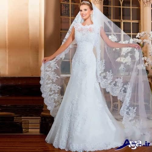 لباس عروس اروپایی مدرن
