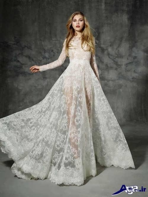 لباس عروس اروپایی