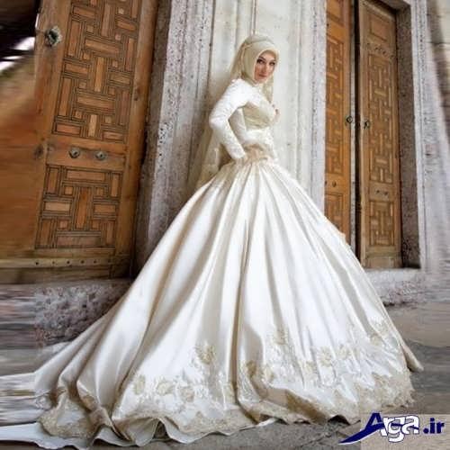 مدل لباس عروس پوشیده ایرانی