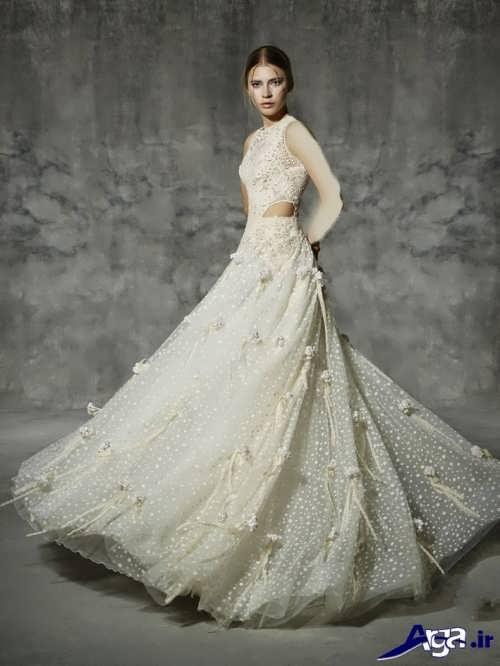 لباس عروس شیک و مدرن اروپایی