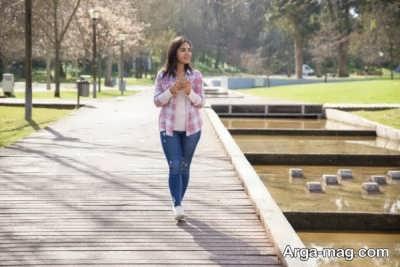 راز جوانی پوست با پیاده روی