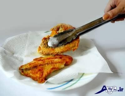 ماهی تیلاپیا آماده سرو