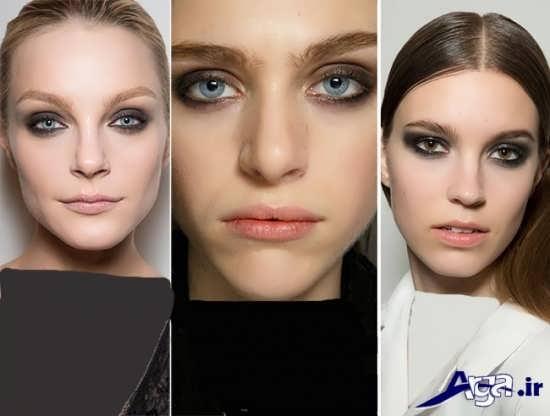 مدل ابرو زنانه و دخترانه پهن جدید