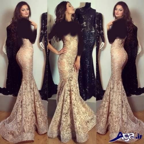 لباس شب زنانه شیک و مدرن