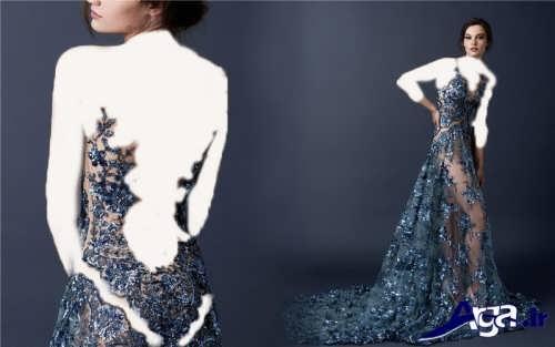 مدل های متنوع لباس شب دانتل زیبا و مدرن