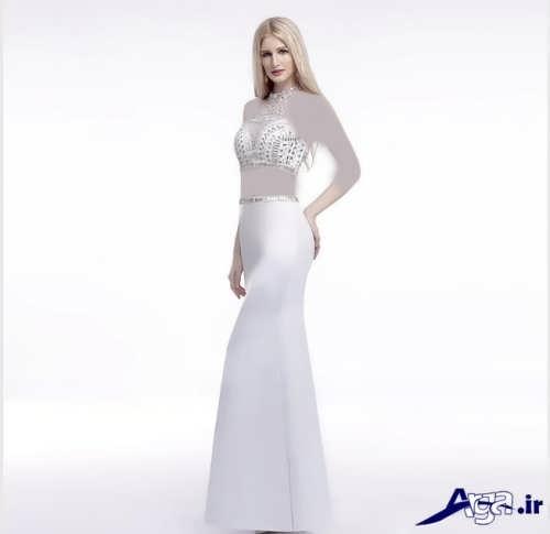 مدل لباس شب با طراحی شیک