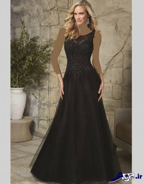 لباس شب ساده و بلند