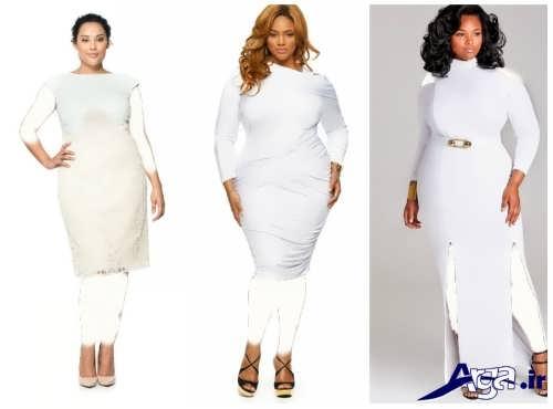 لباس شب برای زنان چاق
