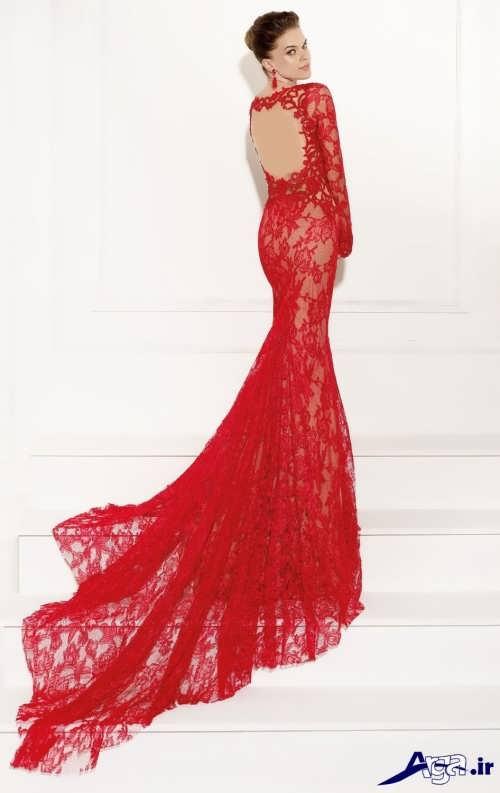 مدل لباس شب دانتل شیک
