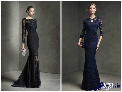 مدل های متنوع لباس شب زیبا