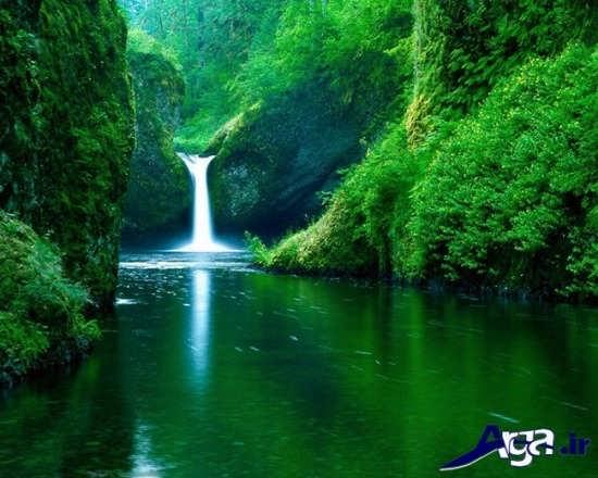 عکس های زیبا از آبشار