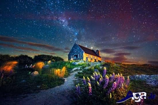 مناظر منحصر به فرد و زیبا در شب