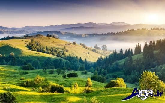 مناظر کوه های زیبا
