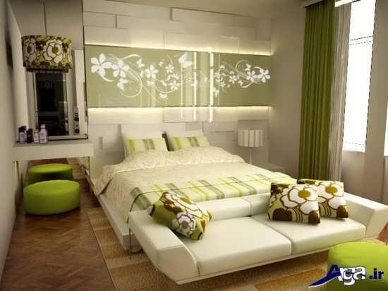 چیدمان داخلی اتاق خواب زیبا