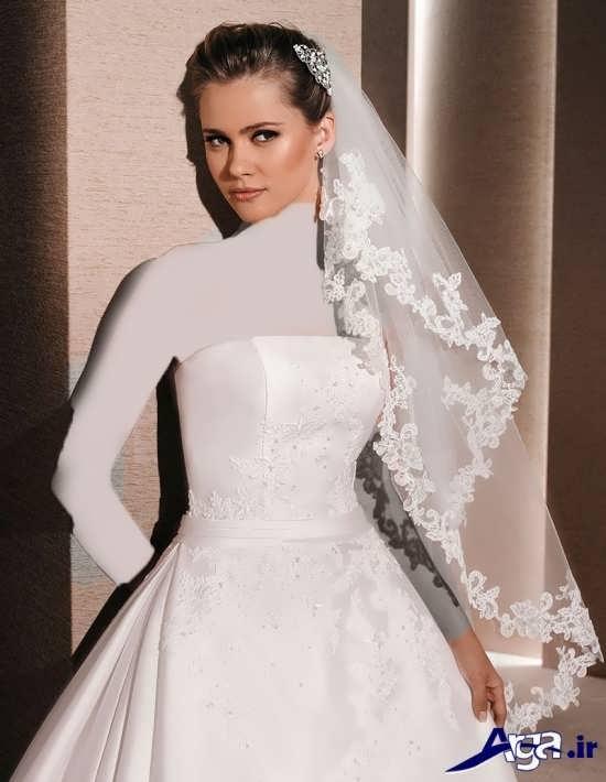 مدل تور عروس فوق العاده شیک