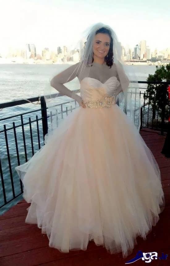 مدل تور عروس فوق العاده جذاب