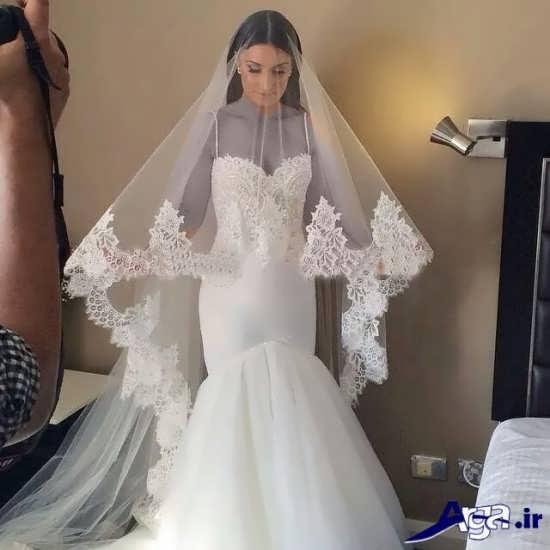 مدل تور عروس فوق العاده زیبا