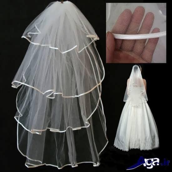 مدل تور عروس چند طبقه