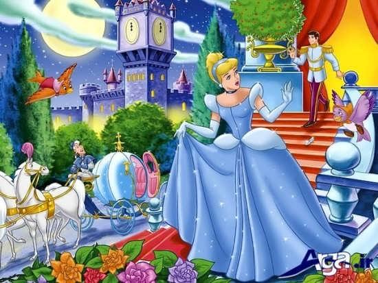 عکس های سیندرلا در قصر