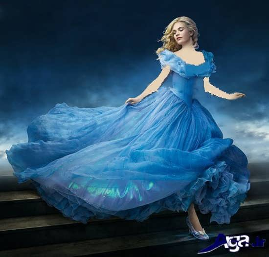 عکس های سیندرلا در لباس زیبایش