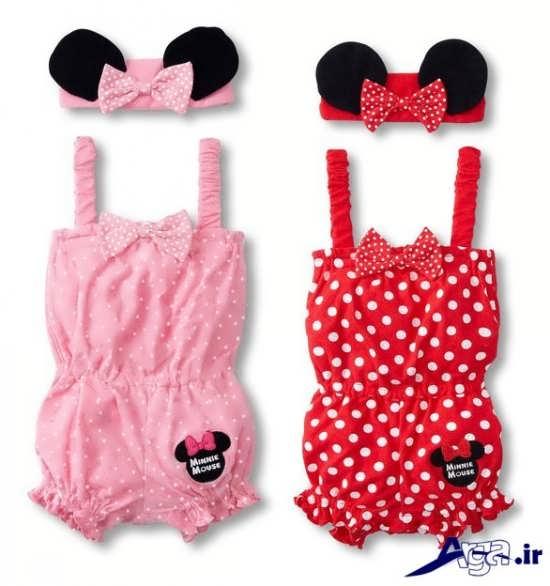 گالری تصاویر لباس نوزادی دخترانه