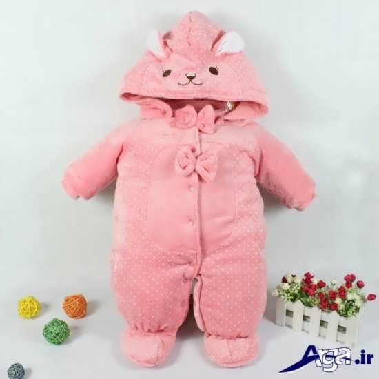 لباس نوزادی دخترانه زمستانه