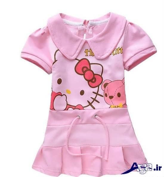 لباس نوزادی دخترانه صورتی